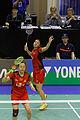 Yonex IFB 2013 - Quarterfinal - Tian Qing - Zhao Yunlei vs Misaki Matsutomo - Ayaka Takahashi 44.jpg