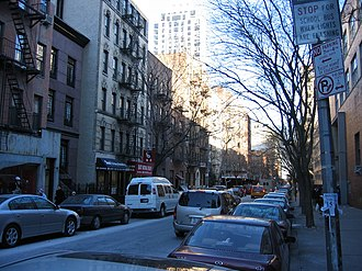 Yorkville, Manhattan - 76th Street between Second and Third Avenues