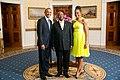 Yoweri Museveni with Obamas 2014.jpg