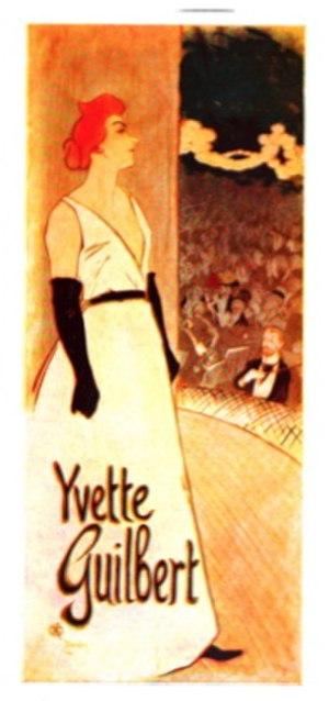 Yvette Guilbert - Yvette Guilbert, by Théophile Steinlen