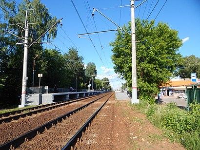 Как доехать до Загорянская на общественном транспорте