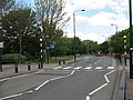 Zebra crossing on Stansfeld Road - geograph.org.uk - 1861414.jpg