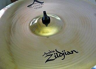 """Avedis Zildjian Company - Zildjian A Custom 22"""" Ping Ride Cymbal"""