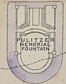 """""""PULITZER MEMORIAL FOUNTAIN"""" map in 1916, from- Bromley Manhattan Plate 083 publ. 1916 (cropped).jpg"""