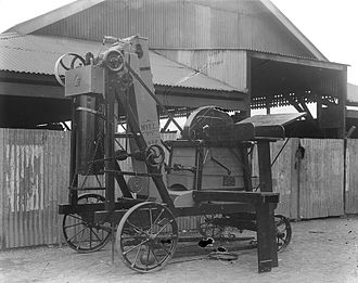 Chaff cutter - 'Myee' chaff cutter from The Powerhouse Museum Collection
