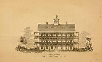 University of Liberia - Liberia College in 1862