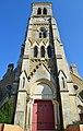 Église Saint-Benoît (clocher) - Aizenay (Vendée).jpg