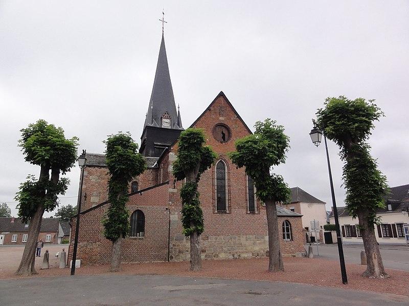 Étréaupont (Aisne) Église Saint-Martin, chevet