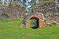 Ērģeme Castle ruins.JPG