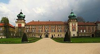 Łańcut Place in Subcarpathian Voivodeship, Poland