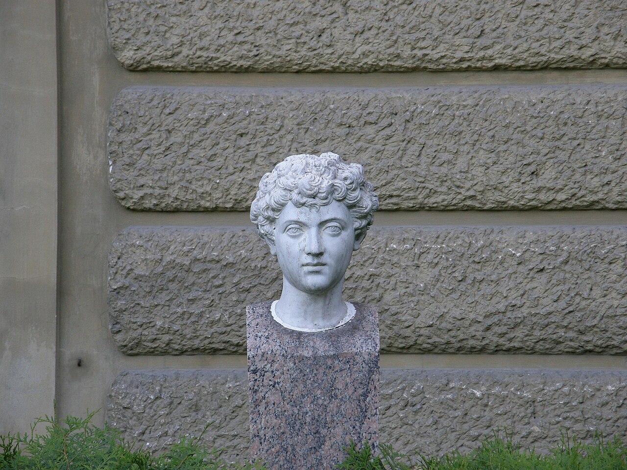 Łańcut palace - young man head.jpg