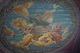 Św Barłomiej - fresk kościół św Bartłomieja w Krakowie.jpg