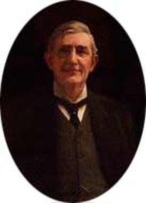 Brandon Thomas - Painting of Thomas