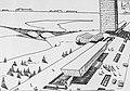 Б.Оськин. Набросок к эскизному проекту Центра Зеленограда. 1962 г..jpg