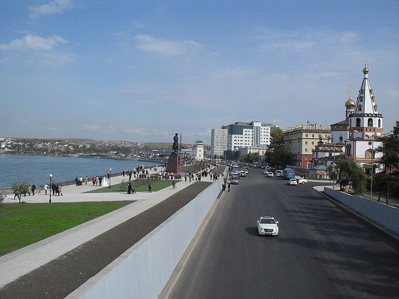 Иркутск. Нижняя Набережная.