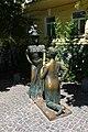 Київ, Пам'ятник персонажам п'єси М. Старицького «За двома зайцями».jpg