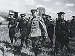 Маршал Советского Союза А.М. Василевский на взлётном поле.jpg