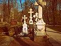 Могила семьи Тютчева, Новодевичье кладбище.jpg