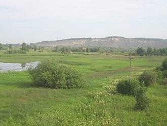 Tyazhinsky District - View of Tyazhinsky District