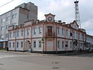 Ovruch - Historic building in town's centre
