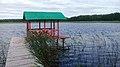 Озеро Солинка. Пірс з альтанкою.jpg