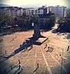 Памятник на центральной площади таунхауса в Кралево 1.jpg