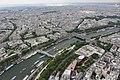 Париж с Эйфелевой башни. 3 уровень (276 метров) - panoramio (5).jpg