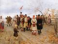 Пимоненко М Весілля в Київській губернії 1891.PNG