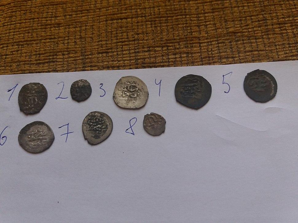 Підбірка монет Кримського ханства