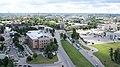"Рига (Латвия) Офисный центр ""Европа"" - вид на Юг - panoramio.jpg"