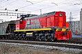 ТЭМ18ДМ-220, Russia, Astrakhan region, Kutum station (Trainpix 213805).jpg