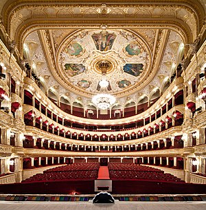 Odessa Opera and Ballet Theater - Audience hall of the theatre