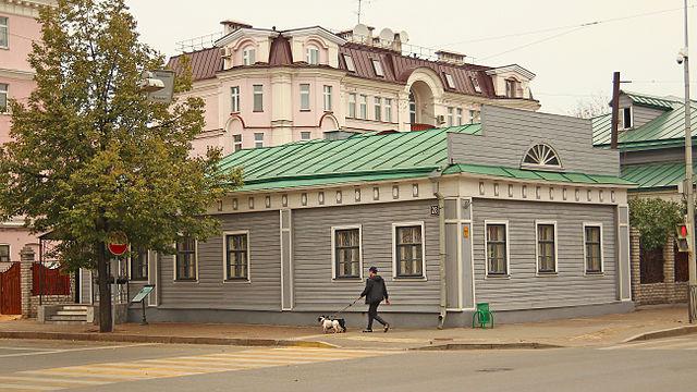 Музей Баратынского в Казани (дом воссоздан в 1990 году)