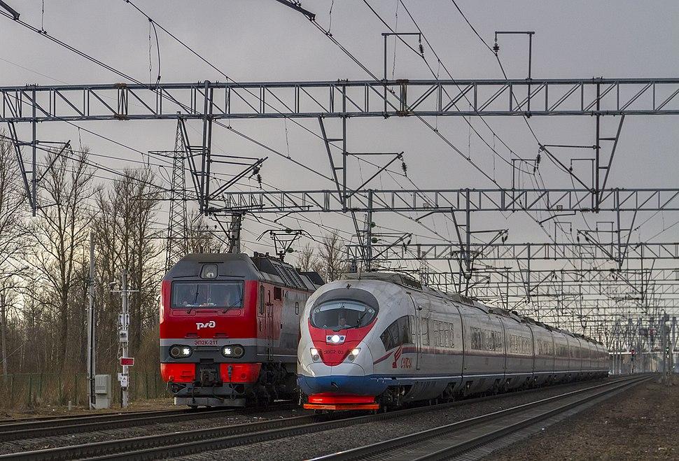 ЭВС2-03, Russia, Saint Petersburg, Slavyanka station (Trainpix 190523)