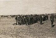 מבצע חורב עין, מפקד היציאה בחלוצה דצמבר 1948 חנוכה תשט 2