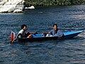 مركب صغير لعبور النيل بلا مجداف - يدوى - panoramio.jpg