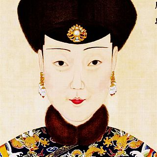 Noble Lady Shun Qing Dynasty imperial consort
