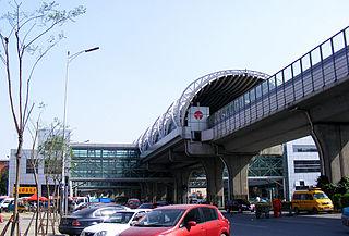 Jiayuanli station metro station in Tianjin, China