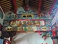 玉里五穀宮 (17)樑壁彩繪 虎邊.jpg