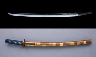 <i>Wakizashi</i> Shorter sword in a daishō (Japanese)
