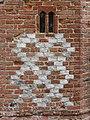 -2020-08-23 Diamond brickwork pattern, south elevation, Saint Peter and Saint Paul Church, Sustead, Norfolk.JPG
