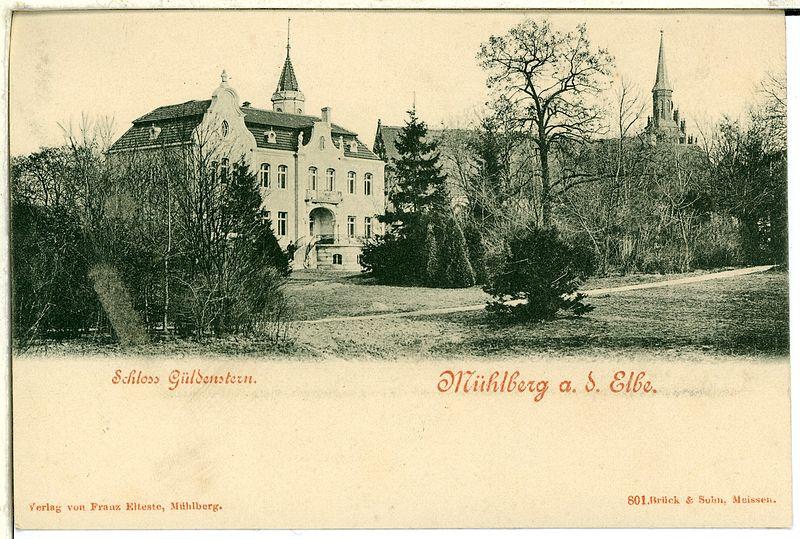 File:00801-Mühlberg a. d. Elbe-1898-Schloß Güldenstern-Brück & Sohn Kunstverlag.jpg