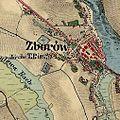 01869 Zborów am Strypa, Franziszeische Landesaufnahme, um 1869.jpg