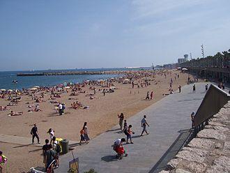 Somorrostro - Somorrostro beach