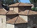 079 Sant Miquel de Terrassa, teulades.JPG