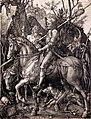 0 'Le Cavalier la Mort et le Diable' - Albrecht Dürer - BRB - Mac's à Hornu.JPG