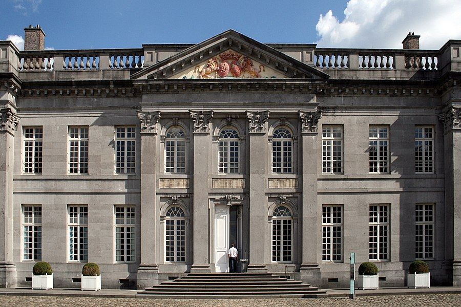 Seneffe (Belgium), the castle (1763/1768 - Architect: Laurent-Benoit Dewez).