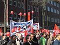 1. Mai 2013 in Hannover. Gute Arbeit. Sichere Rente. Soziales Europa. Umzug vom Freizeitheim Linden zum Klagesmarkt. Menschen und Aktivitäten (053).jpg