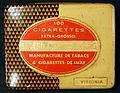 100 cigarettes Legere et Aromatique, Manufacture de Tabacs & Cigarettes de Luxe tin.JPG
