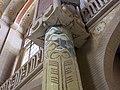 107 Hospital de Sant Pau, edifici d'Administració, sala d'actes, detall de columna.JPG